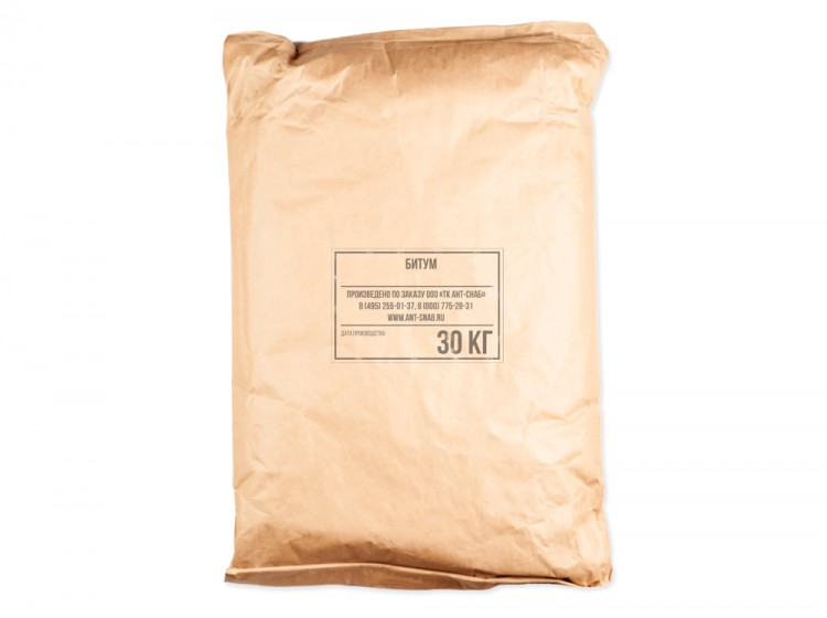 Битум изоляционный БНИ-IV, мешок 30 кг