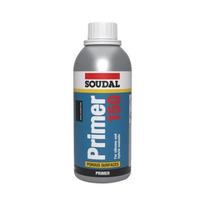 Primer 150, грунтовка для герметиков Soudal, флакон 250 мл