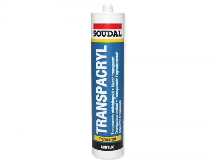 Transpacryl, акриловый герметик для строительных работ, бесцветный, туба 310 мл