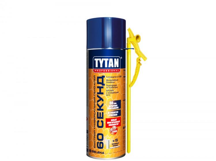 Tytan Быстрый многоцелевой пено-клей 60 секунд, бытовая клей-пена, баллон 300 мл