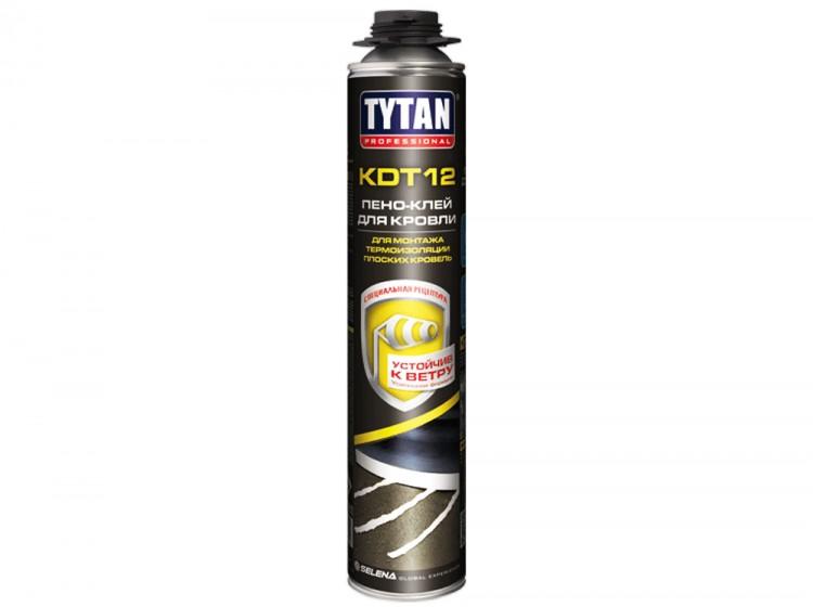 Tytan KDT 12 Пено-клей для кровли, профессиональная клей-пена, баллон 750 мл