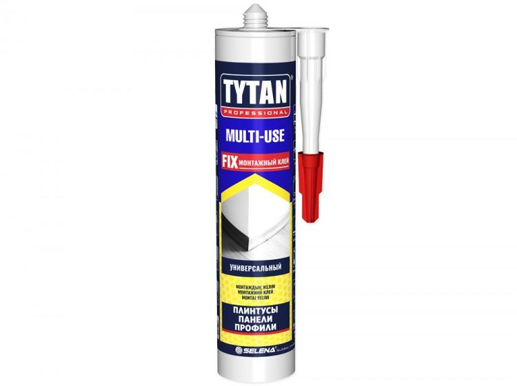 Tytan Multi-Use, монтажный клей на каучуковой основе, бежевый, туба 310 мл