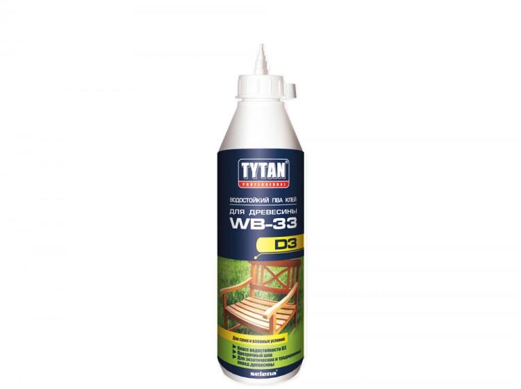 Tytan Professional ПВА клей для древесины, влагостойкий клей, флакон 750 г