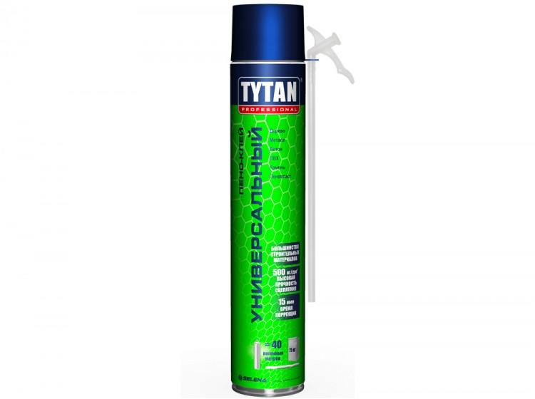 Tytan Пено-клей универсальный, бытовая клей-пена, баллон 750 мл