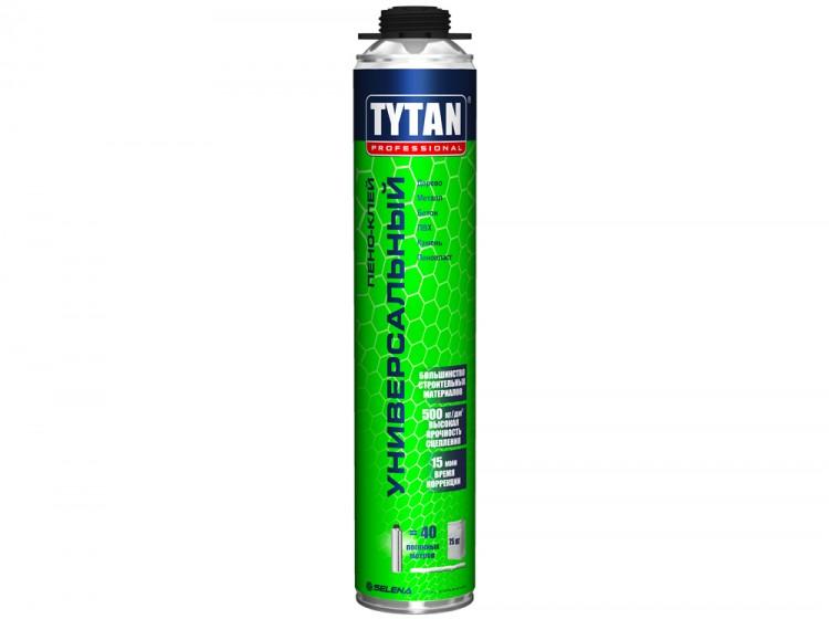 Tytan Пено-клей универсальный, профессиональная клей-пена, баллон 750 мл