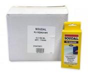 Soudal PU Remover, удалитель затвердевшей монтажной пены, флакон 100 мл