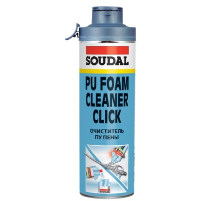 Soudal Click&Fix Gun&Foam Cleaner