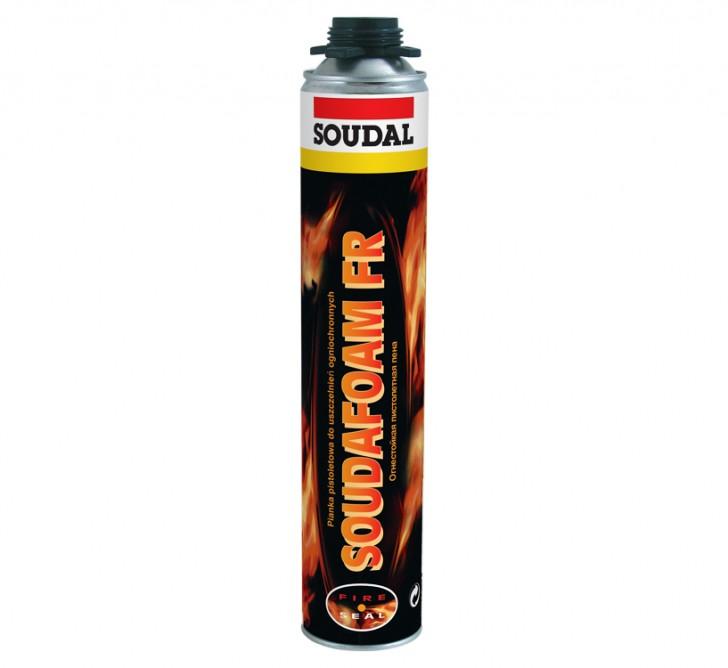 Soudafoam 1K FR Gun, огнестойкая профессиональная монтажная пена, баллон 750/1000 мл