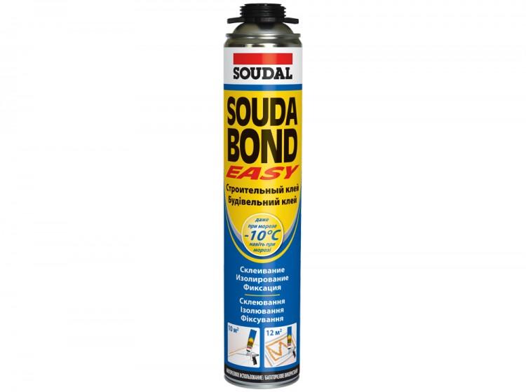Soudabond Easy Gun Winter, зимняя профессиональная универсальная клей-пена, баллон 750/1000 мл