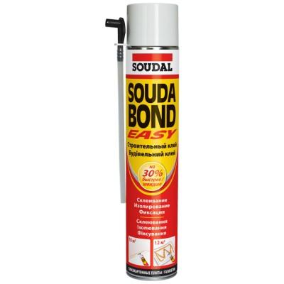 Soudabond Easy, бытовая универсальная клей-пена, баллон 750/1000 мл