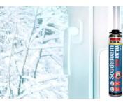 Soudafoam Maxi Арктика, зимняя профессиональная монтажная пена, баллон 870/1000 мл
