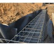 Planter Eco, профилированная защитная мембрана, рулон 40 м2