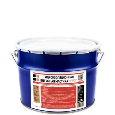 Гидроизоляционная мастика Пруф 10 л