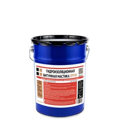 Гидроизоляционная мастика Пруф 5 л