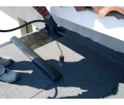 Линокром ХКП сланец серый, рулон 10 м2