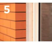 Стиз А, паропроницаемый акриловый герметик для наружных слоев монтажных швов, белый, колбаса 600 мл