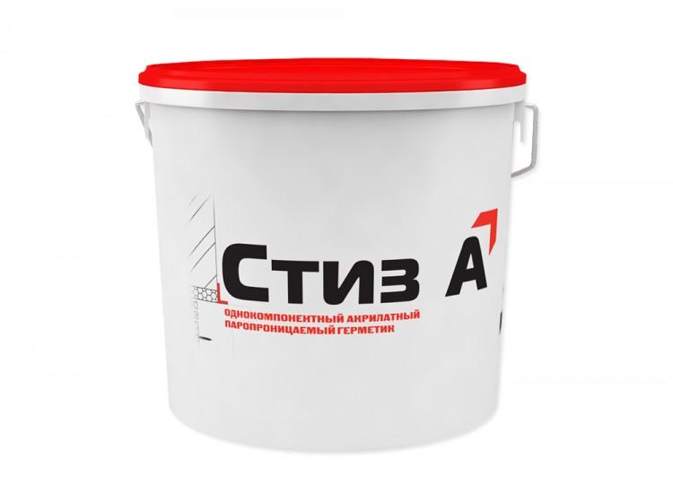 Стиз А, паропроницаемый акриловый герметик для наружных слоев монтажных швов, RAL 8011, ведро 7 кг