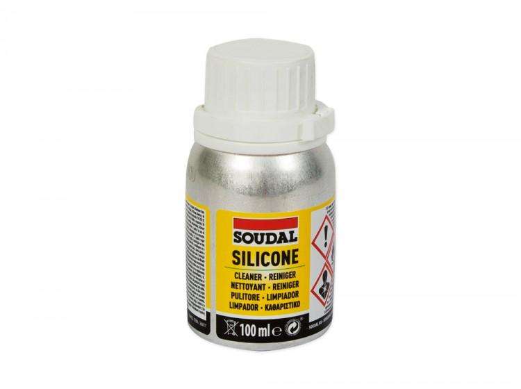 Очиститель силиконовых швов Soudal, флакон 100 мл