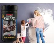 Swipex, очищающие салфетки для незастывших герметиков, клеев и пен, банка 100 шт