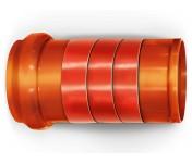 Nicoband, самоклеящаяся битумная кровельная лента-герметик 15 см, красная, рулон 10 м