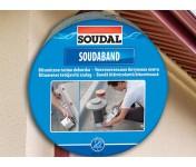 Soudaband, самоклеящаяся битумная кровельная лента 30 см, алюминиевая, рулон 10 м