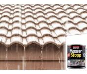 Wasser Stop, армированное покрытие для импрегнации крыш, серый, банка 4 кг
