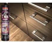 T-REX Violet Быстросохнущий, монтажный клей с волокном, бежевый, комплект 2 шт по 380 г