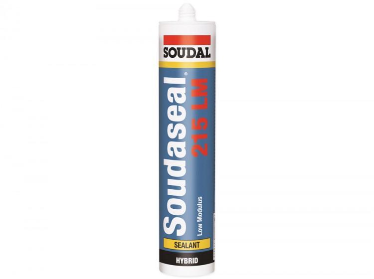 Soudaseal 215 LM, низкомодульный МС-полимерный клей-герметик, белый, туба 290 мл