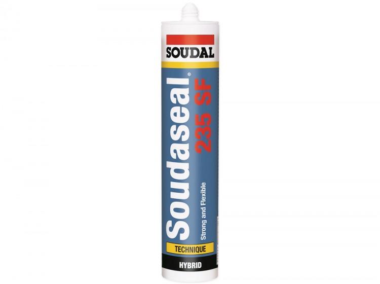 Soudaseal 235 SF, высокоадгезионный МС-полимерный клей-герметик, белый, туба 290 мл