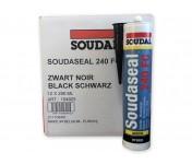 Soudaseal 240 FC, быстроотверждаемый МС-полимерный клей-герметик, черный, туба 290 мл