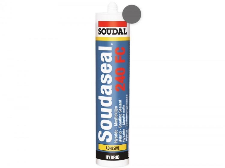 Soudaseal 240 FC, быстроотверждаемый МС-полимерный клей-герметик, серый, туба 290 мл