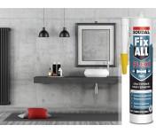Fix All Flexi, универсальный МС-полимерный клей-герметик, черный, туба 290 мл