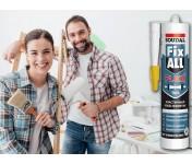 Fix All Flexi, универсальный МС-полимерный клей-герметик, серый, туба 290 мл