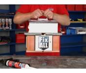 Fix All High Tack, МС-полимерный клей-герметик с большой начальной липкостью, черный, туба 290 мл
