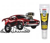 Fix All Turbo, супер-быстрый МС-полимерный клей-герметик с высокой прочностью склеивания, белый, тюбик 125 мл
