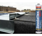Soudaflex 40 FC, полиуретановый клей-герметик, черный, туба 300 мл