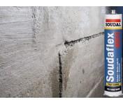 Soudaflex 40 FC, полиуретановый клей-герметик, серый, туба 300 мл