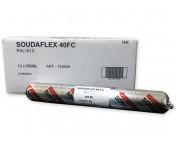 Soudaflex 40 FC, полиуретановый клей-герметик, бежевый, колбаса 600 мл