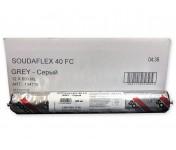 Soudaflex 40 FC, полиуретановый клей-герметик, серый, колбаса 600 мл