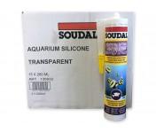 Silirub AQ, силиконовый клей-герметик для аквариумов и витрин, бесцветный, туба 280 мл