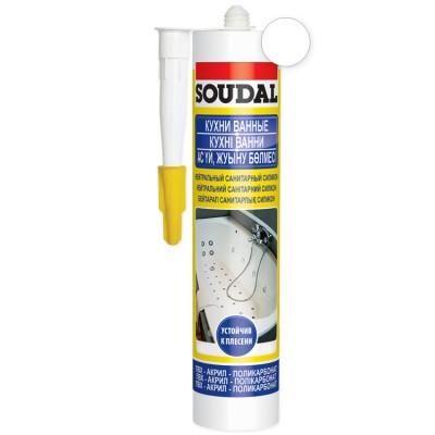 Нейтральный санитарный Soudal белый