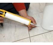 Санитарный силиконовый герметик Profil, белый, туба 270 мл