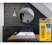 Санитарный силиконовый герметик Soudal Кухни Ванные, бесцветный, тюбик 60 г