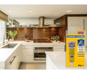 Санитарный силиконовый герметик Soudal Кухни Ванные, белый, тюбик 60 г