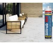 Silirub MA, силиконовый герметик для мрамора и гранита, белый, туба 310 мл