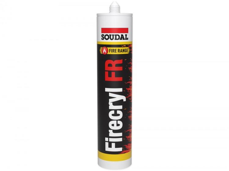 FireCryl FR, огнестойкий акриловый герметик B1, белый, туба 310 мл