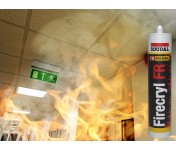 FireCryl FR, огнестойкий акриловый герметик, белый, туба 310 мл
