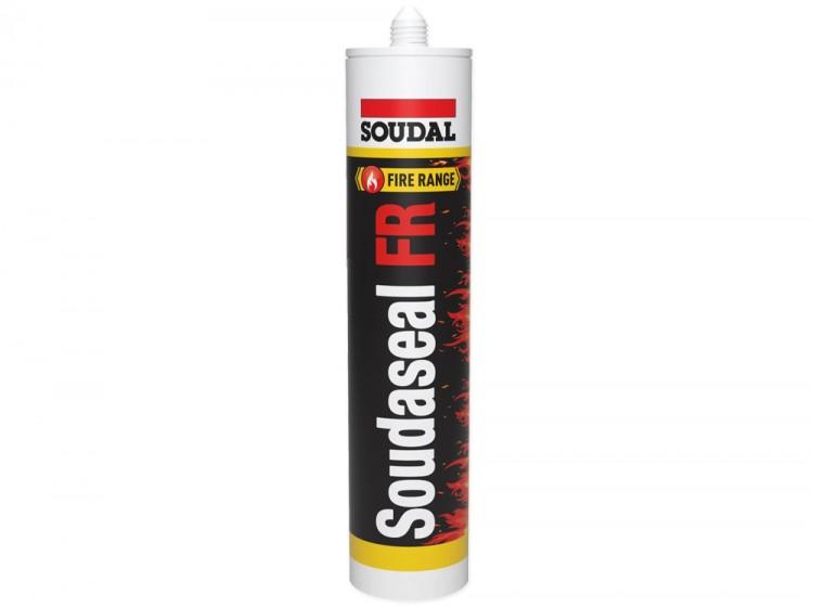 Soudaseal FR, огнестойкий МС-полимерный герметик B1, белый, туба 290 мл