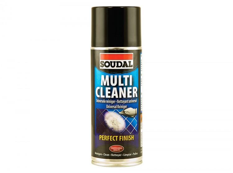 Soudal Multi Cleaner, многофункциональный пенный очиститель, баллон 400 мл