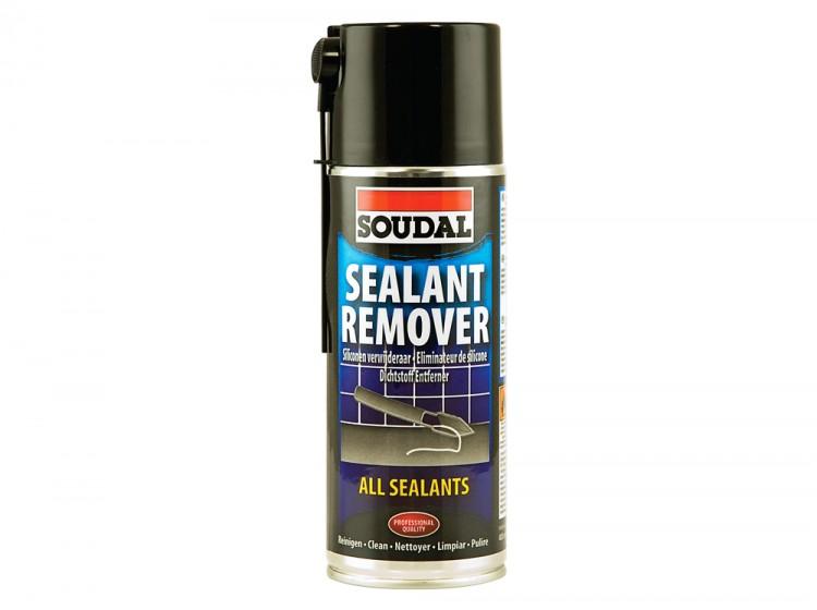 Soudal Sealant Remover Spray, удалитель застывших герметиков, баллон 400 мл